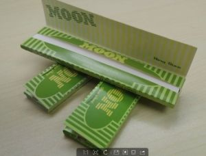 Moon Green Long 13GSM Tobacco Paper pictures & photos