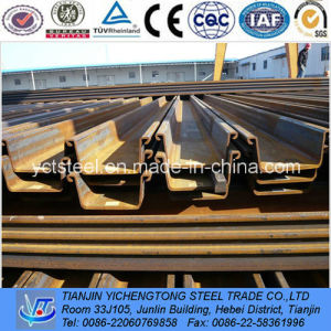 Z-Shape Cofferdam Steel Sheet Piling-China Suppiler pictures & photos