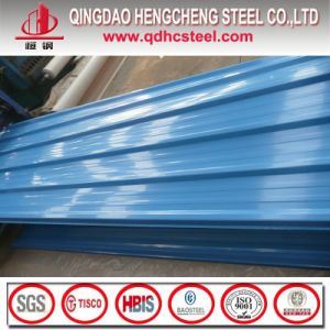 Colored Galvanized Corrugated Steel Sheet for Roof pictures & photos