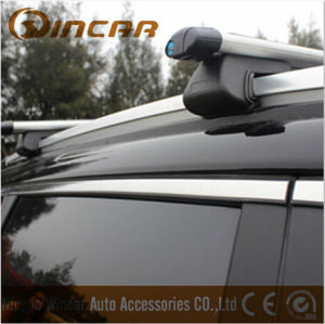 Universal Lockable Anti Theft Car Roof Bars for Cars with Rails Rack Locking Bar pictures & photos