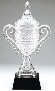 Genuine Glass Engraving Faceted Crystal Cup Award Trophy pictures & photos