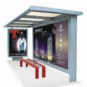 Stainless Steel Bus Stop Shelter (HS-BS-A002) pictures & photos