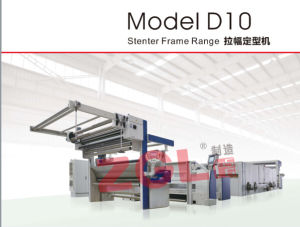 Heat-Setting Stenter Machine for Knitted Fabric pictures & photos