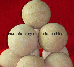 Low Creep Alumina Ceramic Grinding Ball for Ball Mill/Heating Furnace pictures & photos