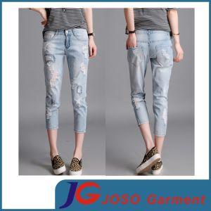 Boyfriend Style Women Online Slim Trousers Gril Slacks (JC1389) pictures & photos