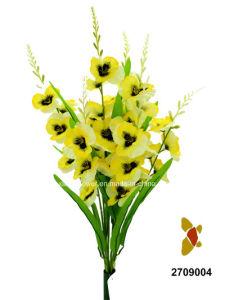 Artificial/Plastic/Silk Flower Pansy Bush (2709004) pictures & photos