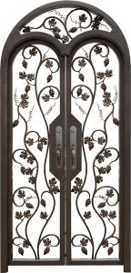 Wrought Iron Security Gate pictures & photos