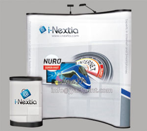 Trade Show Combo Exhibition Display 2 Lights+Podium+PVC Pop up Banner pictures & photos