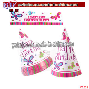 Wedding Birthday Decoration Party Favor Birthday Party Hats (C2059) pictures & photos