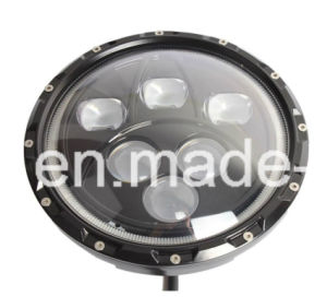 7′′ 60W High Power Hi/Lo Beam and Halo 4X4 LED Headlight with Angle Eye for Jeep Wrangler pictures & photos