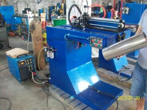 Steel Sheet Barrel Straight Welding Machine pictures & photos