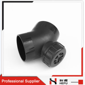 Bend Extension 45 Degree Elbow Plastic HDPE Pipe Fitting pictures & photos