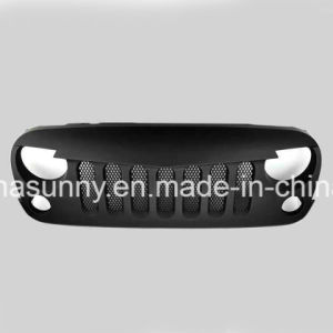 Top Sale Angry Bird Grille Black Front Grille with Inserts for Jeep Wrangler pictures & photos