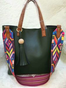 China Wholesale Leather Handbag / Lady′s Tote Handbag Ma1659