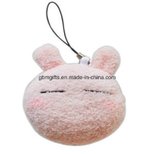 Plush Cartoon Phone Headset Plug Screen Wiper Keychains pictures & photos
