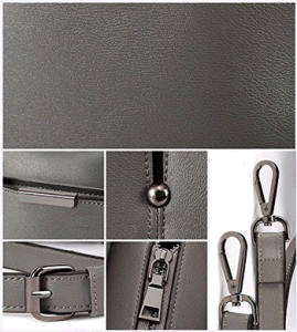 Grey Tote Shoulder Handbag PU Leather (BDMC103) pictures & photos