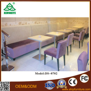 New Design Restaurant Dinner Set Granite Dining Tables and Chairs pictures & photos