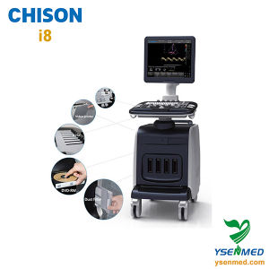 LCD Trolley 4D Color Doppler Ultrasound Chison I8 pictures & photos