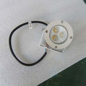 3W Waterproof LED Marine Spot Light, LED Deck Light for Landscape Lighting pictures & photos