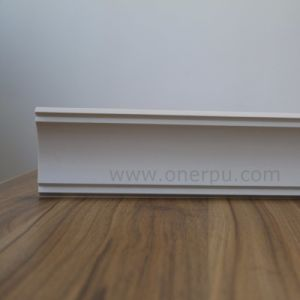 simple cove crown molding pu modern cornice moulding hn8508