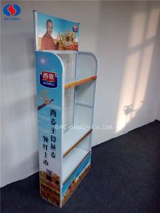 Supermarket Metal Promotion Noodle Display Rack pictures & photos