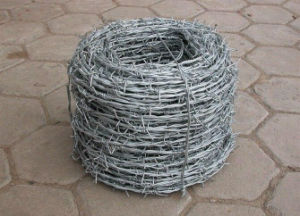 Hot-DIP Galvanized Barbed Wire Per Roll Made in China pictures & photos