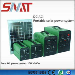 Home Use 30W to 100W Portable Power System with 24ah 50ah 100ah Built-in Battery pictures & photos