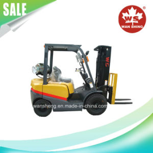 Factory Price 3 Ton Gasoline / LPG Forklift Truck pictures & photos