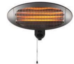Electrical Appliance Patio Heater with Two Quartz Heating Element pictures & photos
