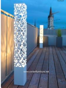 Corian Outdoor Garden Stanidng Lamp pictures & photos