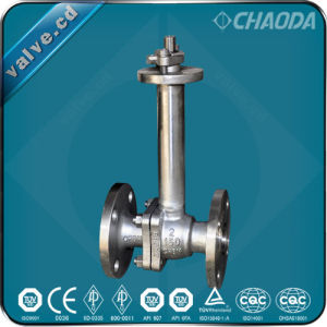 Cryogenic Ball Valve with Extended Bonnet pictures & photos