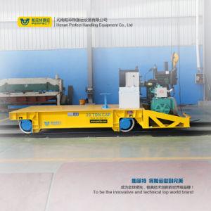 Aluminum Coil Production Line Use Electric Flat Rail Car pictures & photos