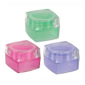 Plastic Cosmetic Jar for Personal Care Product (NJ62) pictures & photos