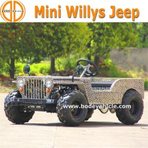 Bode Quanlity Assured New for Kids 110cc/150cc Willys Mini Willys Jeep 4 Wheeler Motorcycle for Sale pictures & photos