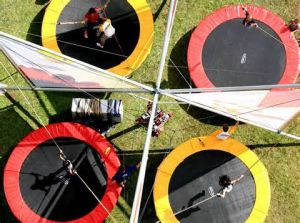 Outdoor Game Trampoline Bungee Exercises with Safety Cord pictures & photos