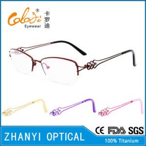 Latest Design Beta Titanium Optical Glasses for Woman (8315) pictures & photos