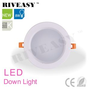 LED Ceiling Lamp Black 8W LED Downlight with Ce&RoHS pictures & photos