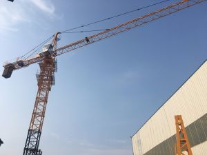 Tc5610 Max 6ton Max Jib 56m Length Tip Load 1ton 40m Freestanding Height Ce Cetified Best for Group Residential Building