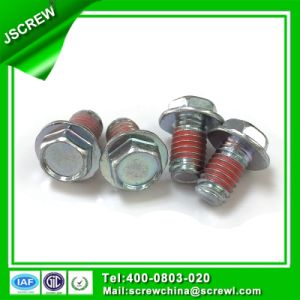 M6 Stainless Steel Hex Washer Head Flange Bolt pictures & photos