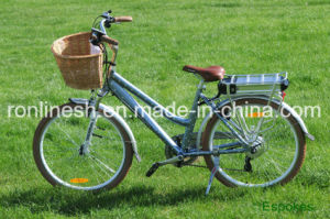 Lady Chic Polka DOT Style 250W/350W/500W Electric Bicycle/Electric Bike/Pedelec/E Bicycle/E Bike En15194 pictures & photos
