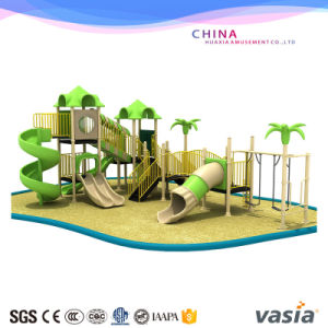Slide and Swing Sea Water Playground Equipment pictures & photos