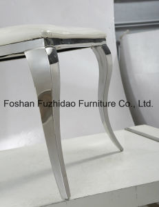 Modern Brush Stainless Steel Chair with High Back pictures & photos