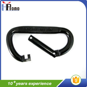 Dark Colored Metal Carabiner with Twistlock pictures & photos