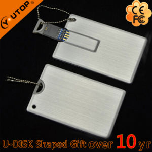 Metal Credit Card USB3.0 Pendrive for Free Gift (YT-3109-3.0) pictures & photos