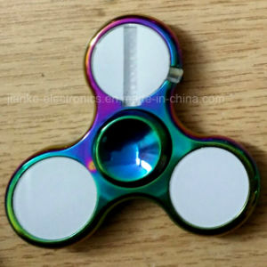Hot Selling Zinc Alloy LED Spinner with Ce, RoHS (6000E) pictures & photos