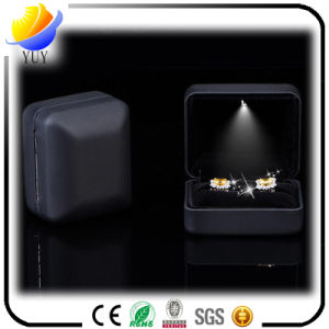 Hot Sell LED Luminous Creative Proposal Ring Box LED Jewelry Box pictures & photos
