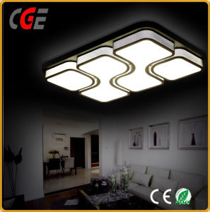White Acrylic Ceiling Lamp with Decorative Pattern for Household pictures & photos