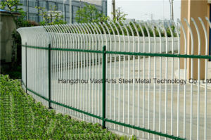 Haohan Elegant Attractive Simple Security Garden Arc White Fence 33 pictures & photos