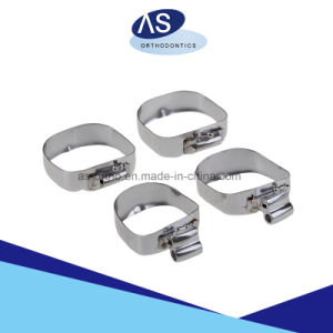 Orthodontic Bands with Buccal Tubes and Cleat and Sheath pictures & photos