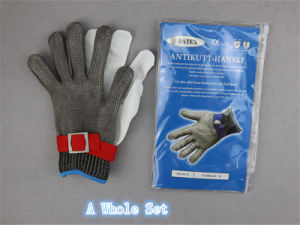 Stainless Steel Metal Mesh Anti-Cut Glove-2351 pictures & photos